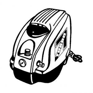 Compresseur à air 1,8 cfm