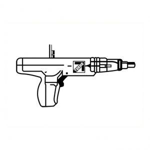 Fusil pour ancrage dans le béton