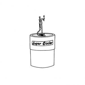 Cooler à bière en fût