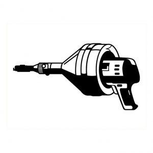 Fichoir électrique pour tuyau 1 1/2″ et 2″