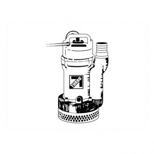 Pompe submersible électrique