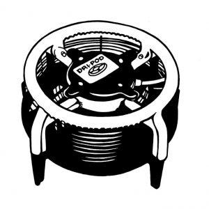 Séchoir à plancher «DRI-POD»