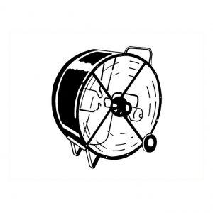 Ventillateur 42″ 2 vitesses