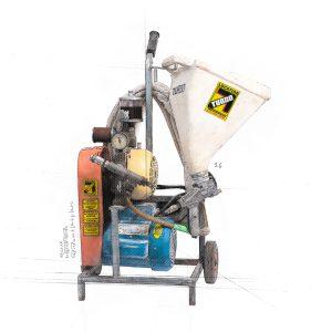 Applicateur de stucco à air