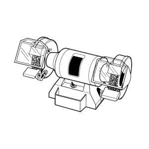 Bench grinder 5″
