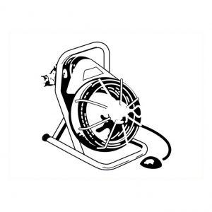 Fichoir électrique pour tuyau 3″