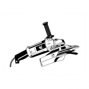 Meuleuse «roto scrapper»