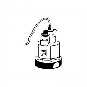 Pompe pour toit 3/4″