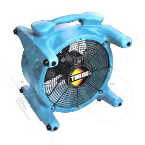 Ventilateur DRI-EAZ turbo