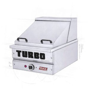 Autoclave vapeur pour Hot-Dog ou Smoked Meat (Steamer)