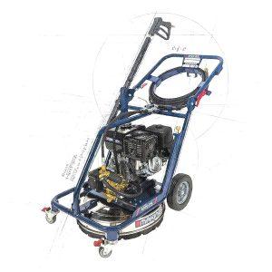 Laveuse à Pression -Double Fonction- 4000 psi, Makinex DPW-4000