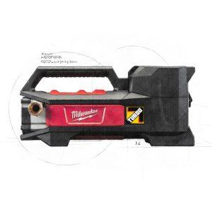 Pompe pour lit d'eau à batterie 18 volts
